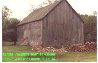 James Vaughn's Barn